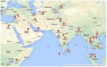 Site Visitors - Middle East